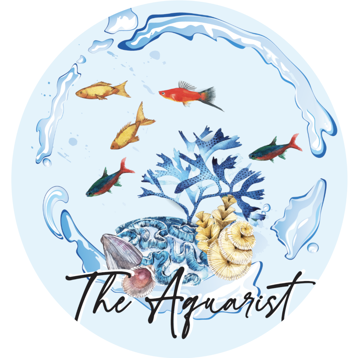 The Aquarist Logo